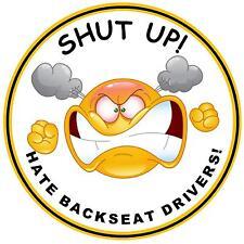 fermeture UP ( Hate banquette arrière DRIVERS - Drôle Porte vignette auto -
