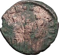 Honorius  & Theodosius II & Arcadius  Ancient  Roman Coin  i31122