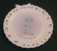Enesco/Precious Moments Lt Ed Plate: You Have Touched So Many Hearts