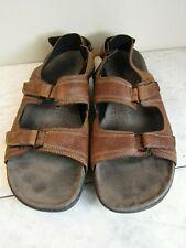 Clarks UnTrek Brown Leather Slingback Sandal Men's Shoes Size 13 M