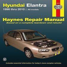 1996-2010 Haynes Hyundai Elantra Repair Manual