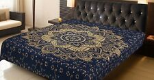 Queen Size Bedspread Indian Mandala Tapestry Bedding Set Throw