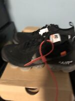 Brand New Off White Nike Air Vapormax Size 7 100% Authentic