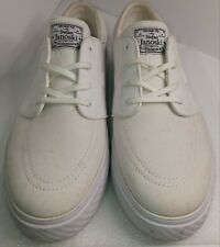 Stefan Janoski Nike Skateboard  Shoes Size 11 All White (Preowned)