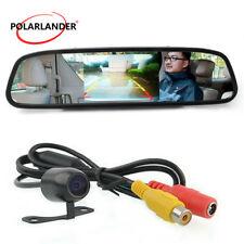 "4.3""TFT-LCD Car Monitor DVD/DVB Parking line Mirror Image   Rear View Camera"