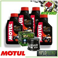 Kit Inspección MOTUL 7100 10W40 + Filtro Hiflo HF204 Triumph Tiger Xrx 800 2016