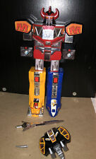 Mighty Morphin Power Rangers 1991 Dino Megazord 12? Incomplete - Directions