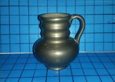 Oaxaca Mexico Lama Art Pottery Mug Cup Vase Coal Fired Glaze Unique Piece