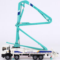1:55 Scale Diecast Concrete Pump Truck Construction Vehicle Car Model Toy