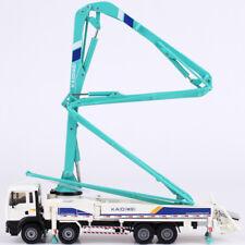 1 55 Scale Diecast Concrete Pump Truck Construction Vehicle Car Model Toy