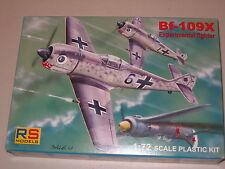 1/72 Scale RS Models Messerschmitt Bf-109X Experimental Fighter