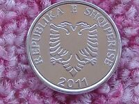 Albania New 5 Leke 2011. New variety with different typography.Double Head Eagle