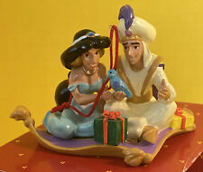 Disney Store Santas Workshop Christmas Ornament Aladdin And Jasmine