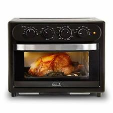 Dash Chef Series 7 in 1 Convection Toaster Oven Cooker - Matte Black