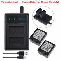 Battery Or Dual USB Charger for Panasonic CGA-S006 CGA-S006E CGR-S006E  FZ50
