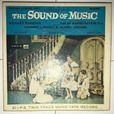The Sound of Music Reel to Reel Twin Track Mono Tape Record - Rare