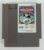 Nintendo NES Game Action Video Monopoly Parker Brothers Tested Works