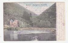 Waulsort,Belgium,Ermitage des Cascatelles,Walloon,Used,Dinant,1907