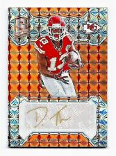 De'Anthony Thomas KC Chiefs 2016 Spectra Football Signatures Auto Card 3/3