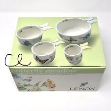 Lenox Butterfly Meadow Measuring Cup Set of 4 Ceramic