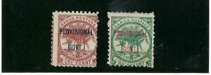 SAMOA.- OVERTD, PROVISIONAL GOVT.  SC 31-32-    1899