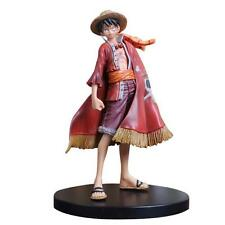 18CM Anime One Piece Straw Hat Monkey D. Luffy PVC Figure Toy With Box