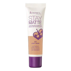 Rimmel Stay Matte 302 Light Nude Foundation Shine Control 30 ML