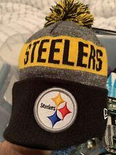 New Era Pittsburgh Steelers NFL On Field Sideline Knit Hat 2016
