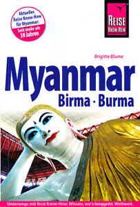 REISEFÜHRER MYANMAR BIRMA 2015/16 REISE KNOW HOW, wie neu, UNGELESEN, 528 SEITEN