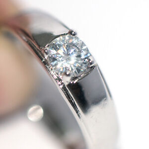 Womens Rings Silver Ring Wedding Bridal Party Rings Crystal Fashion Ring Size 7