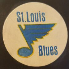 1972-77 ST. LOUIS BLUES  NHL CONVERSE OFFICIAL GAME PUCK ART ROSS MADE IN USA
