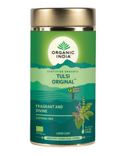 ORGANIC INDIA TEA TULSI LOOSE LEAF 100G - CHOOSE YOUR FAVORITE FLAVOURS