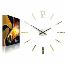 Modern Clock Carlo Oversized 75cm Wall Clock, Gold