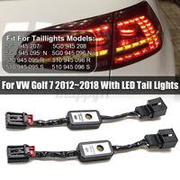 2X Semi Dynamisch LED Blinker Laufblinker Für VW Golf 7 2012-2018 Rückleuchten
