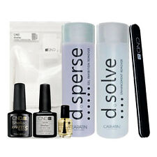 CND Shellac Top & Base Essentials kit - Full Starter Kit - Prep & Finish