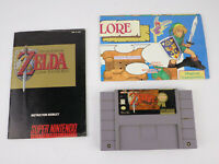 The Legend Of Zelda A Link To The Past w/ MAP & Manual Super Nintendo GENUINE