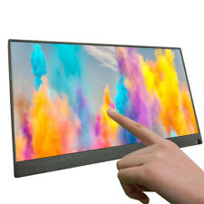 15.6 Inch IPS Touch Screen Use Portable Monitor Laptop 1920 * 1080P LCD Screen