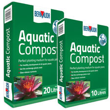More details for bermuda aquatic compost pond plant soil planting substrate health water fish koi