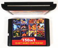 150 in 1 Game Cartridge 16BIT MD Game Card For Sega Mega Drive for PAL and NTSC
