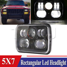 """New! CREE LED 5"""" X 7"""" LED Headlight Replacement for Jeep Cherokee XJ Trucks"""