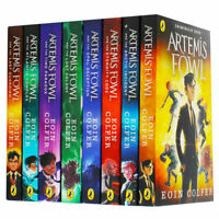 Eoin Colfer Artemis Fowl Series 8 Books Collection Set Brand New Cover