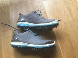 ECCO Womens Biom Hydromax Waterproof Yak Leather Golf Shoes EU 36 UK 4