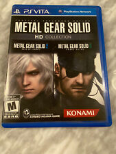 Sony Playstation PS Vita Metal Gear Solid HD Collection Game And Case
