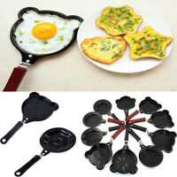 Heart  Non Stick Egg Pancake Frying Pan Omelette Breakfast Kitchen Cookware Tool