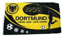 Flagge / Fahne Dortmund Mein Verein Hissflagge 90 x 150 cm