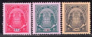 MOZAMBIQUE COMPANHIA PORTUGAL 1902/4 STAMP Sc. # 61 B/C AND 61 E MNH