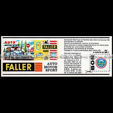 FALLER AMS AUTO MOTOR SPORT 1965 CIRCUIT SLOT CAR RACING VINTAGE - Pub Ad #D307