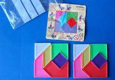 Plastic shape puzzles