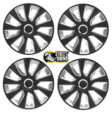 "16"" Universal Stratos RC Wheel Cover Hub Caps x4 Ideal For Renault GTA"