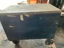 Knaack Gang Box Job Site Storage Tool Chest 48x305x24 On Casters